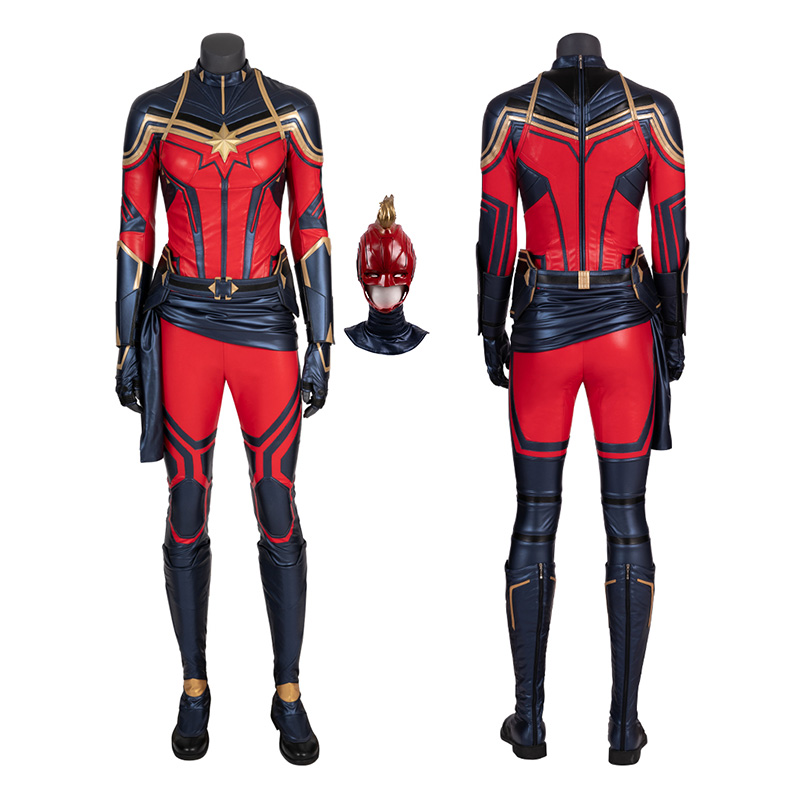 Captain Marvel Costumes Avengers Endgame Carol Danvers Cosplay Costumes