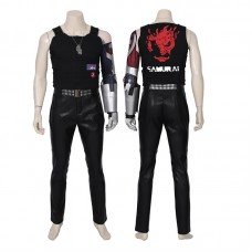 Johnny Silverhand Costume Cyberpunk 2077 Cosplay Costume
