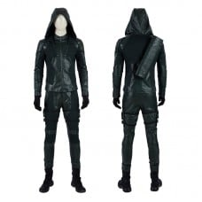 Green Arrow Season 8 Oliver Queen Cosplay Costume