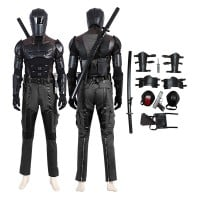 G I Joe Retaliation Costume Snake Eyes Cosplay Costumes