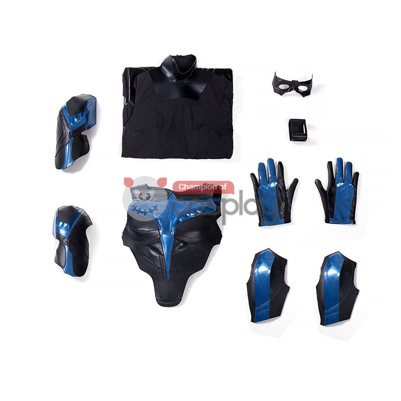 Nightwing Costumes Dick Grayson Titans Cosplay Costume