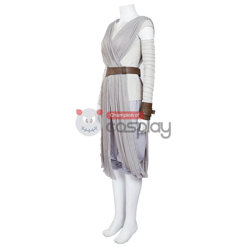 Star Wars Rey Cosplay Costume Upgraded Version