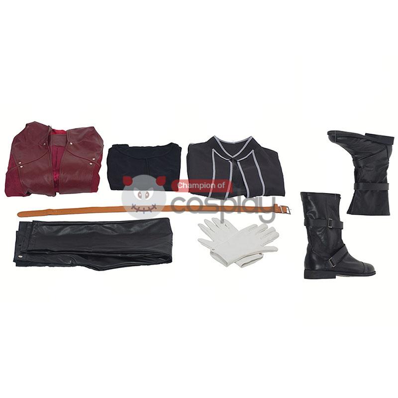 Edward Elric Costumes Fullmetal Alchemist Cosplay Costume