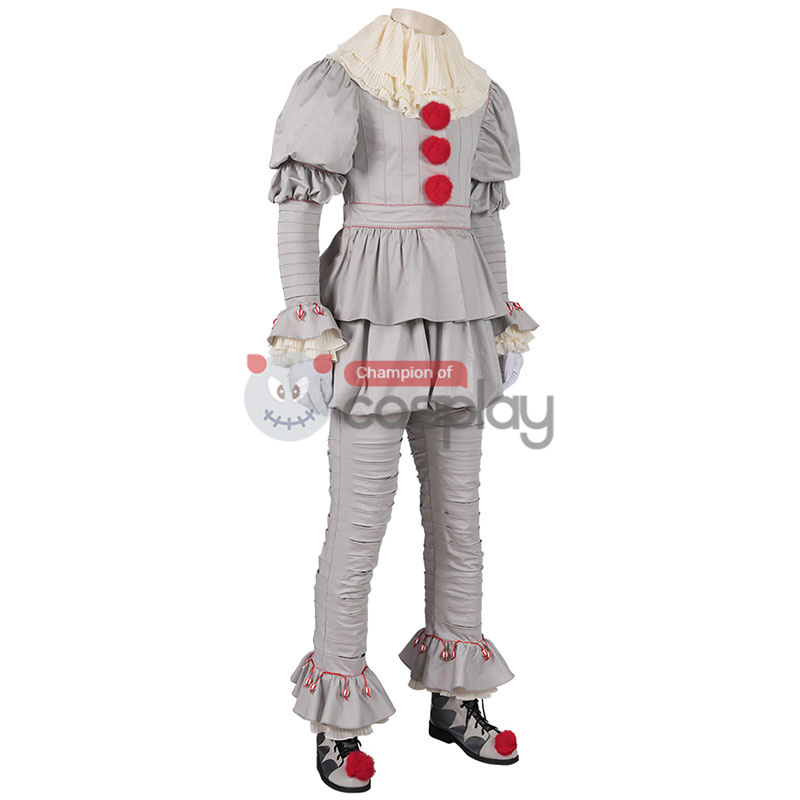 The Dancing Clown IT Chapter Two Pennywise Cosplay Costume Suit