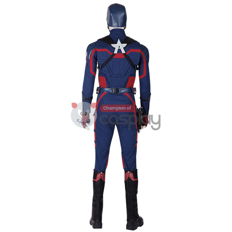 Captain America Cosplay Costume US Agent John Walker The Falcon and The Winter Soldier Outfit
