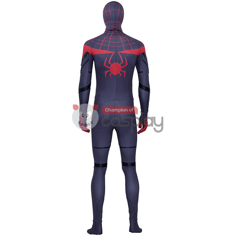 Adult Spiderman Jumpsuit Spider Man Miles Morales Cosplay Costume