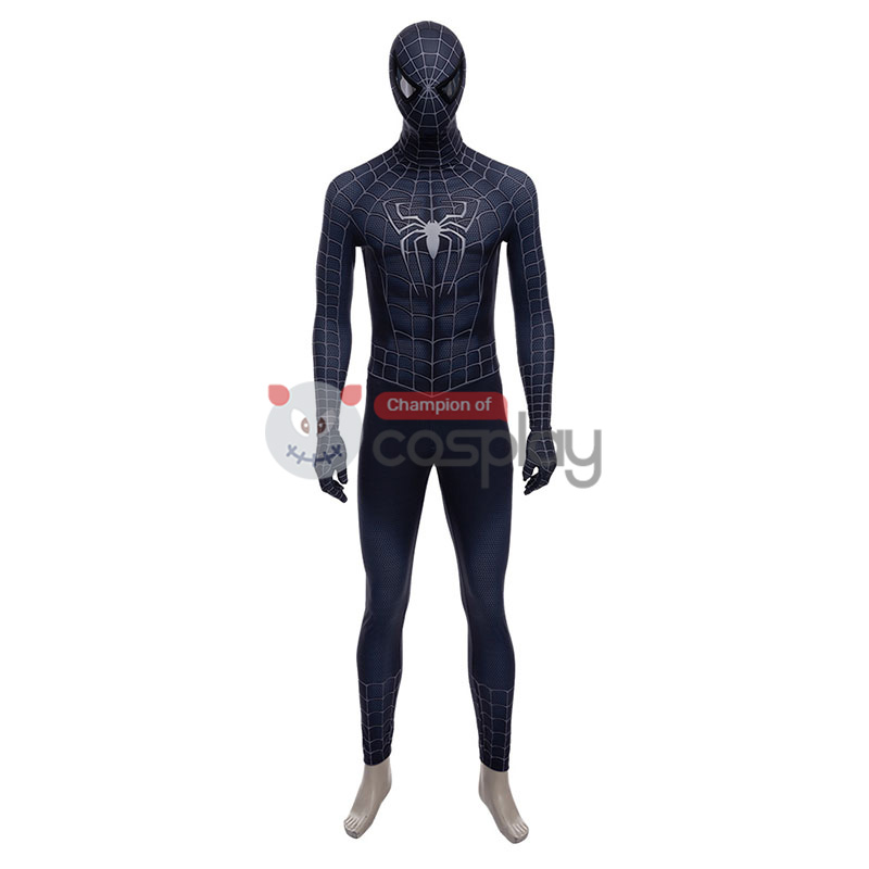 Adult Spider Man 3 Venom Spider-Man Halloween Cosplay Costume