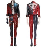 Harley Quinn Costume Suicide Squad Kill the Justice League Cosplay Suits