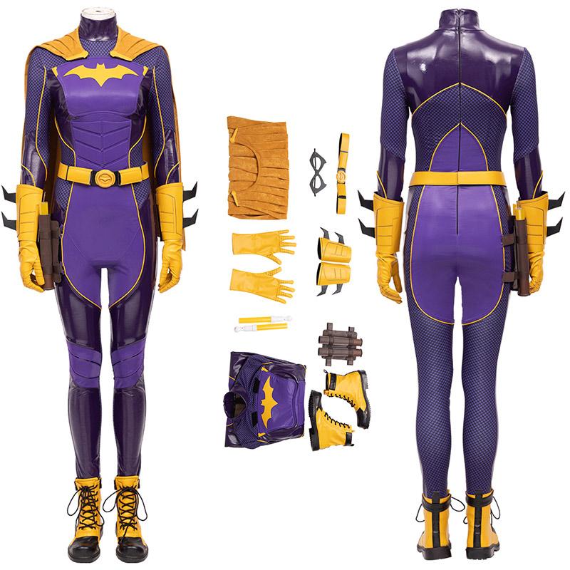 Batgirl Costume Batman Gotham Knights Barbara Gordon Cosplay Suit
