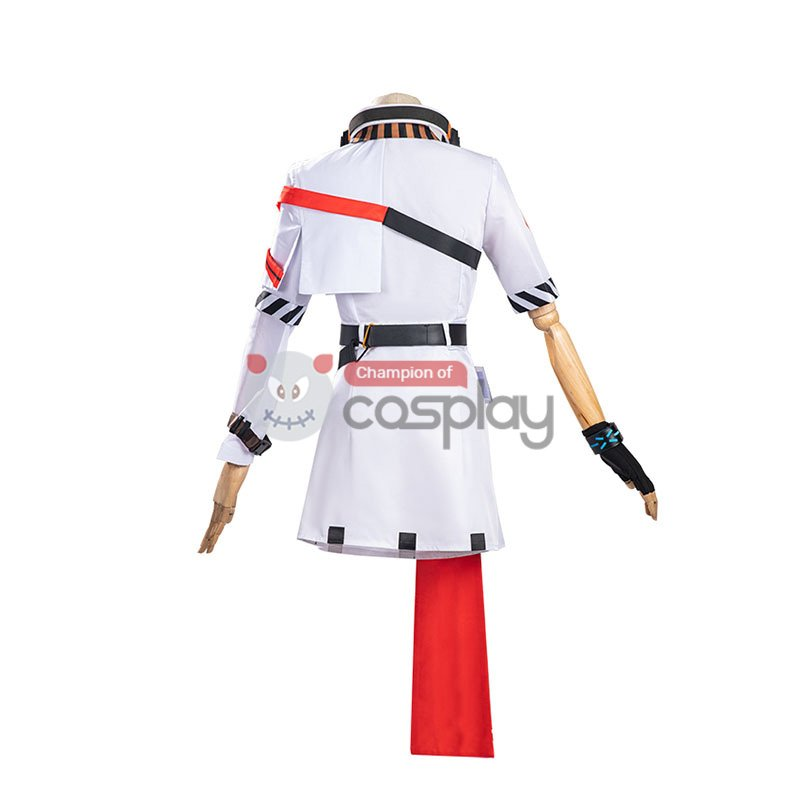 Game Arknights April Cosplay Costume
