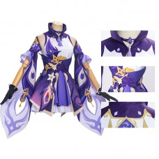 Keqing Costume Game Genshin Impact Cosplay Costumes