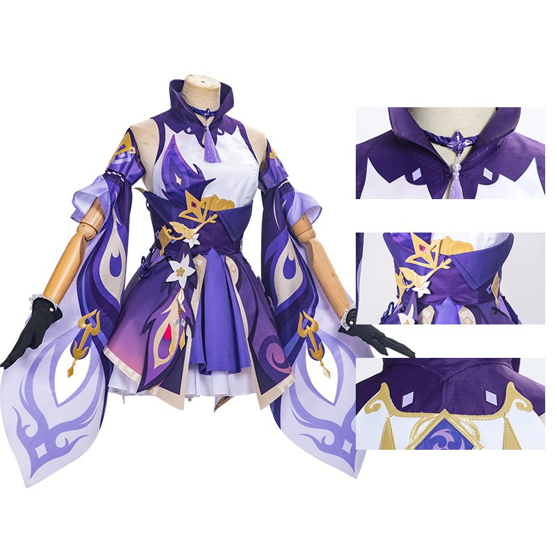 Keqing Costume Game Genshin Impact Cosplay Costumes