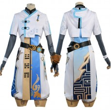 Chongyun Costume Genshin Impact Cosplay Costumes