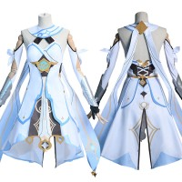 Genshin Impact Cosplay Suit Traveler Lumine Costume