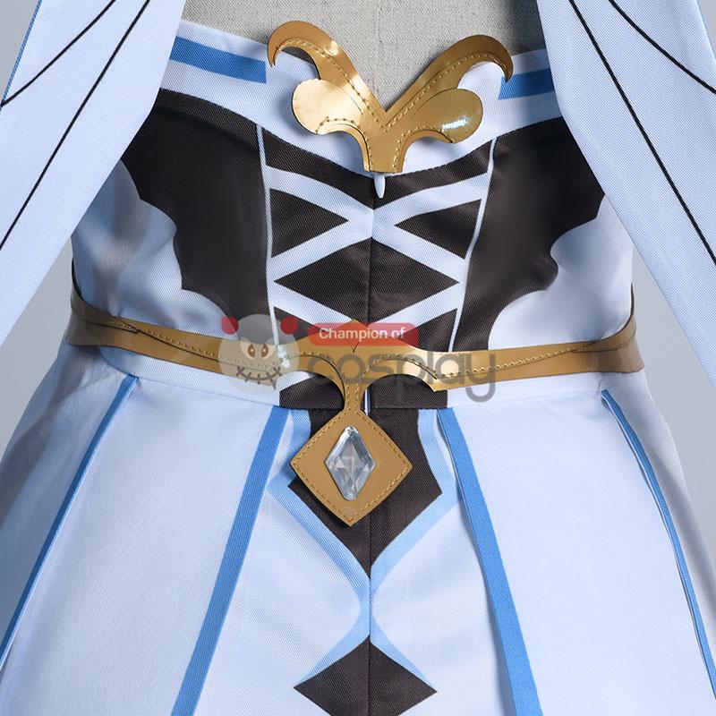 Genshin Impact Cosplay Suit Traveler Lumine Costume