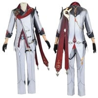 Genshin Impact Childe Tartaglia Cosplay Costume