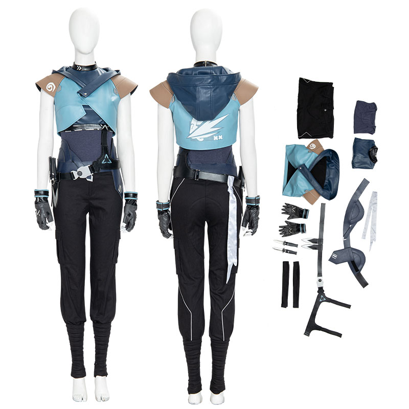 Jett Costume Game Valorant Cosplay Costumes for Halloween