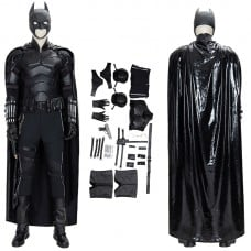 The Batman 2021 Bruce Wayne Cosplay Suit Robert Pattinson Costume