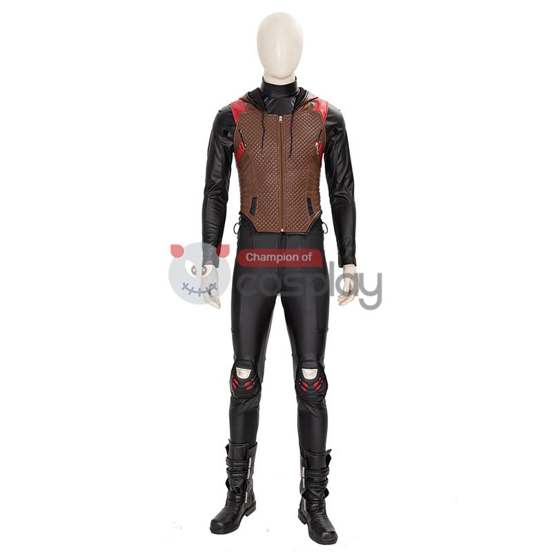 Gotham Knights Red Hood Cosplay Suit Batman Jason Todd Costume