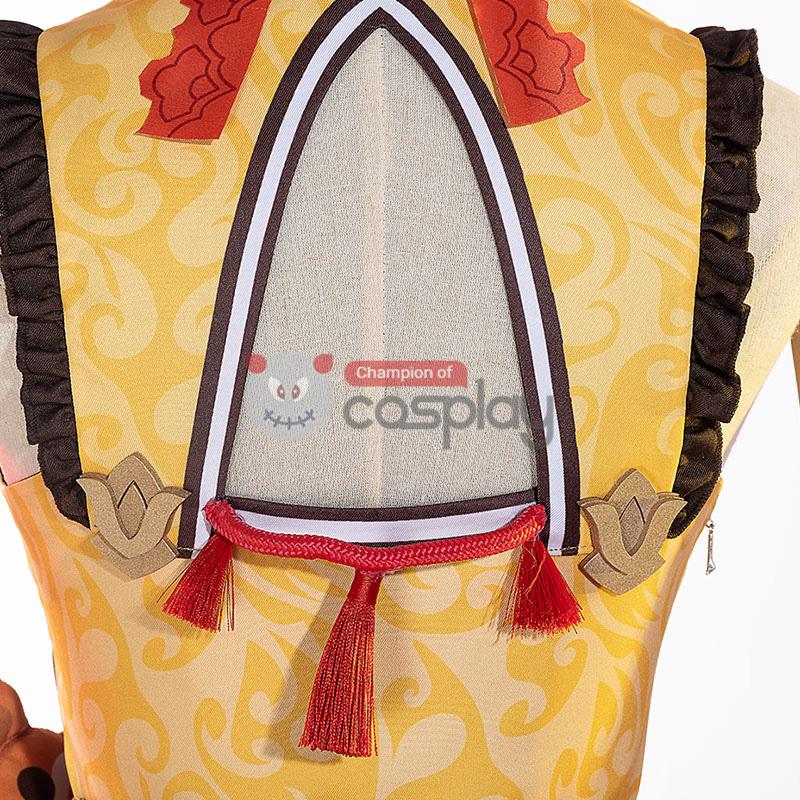 Genshin Impact Xiangling Cosplay Costume