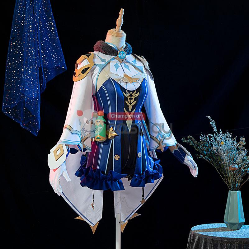 Genshin Impact Sucrose Cosplay Costume