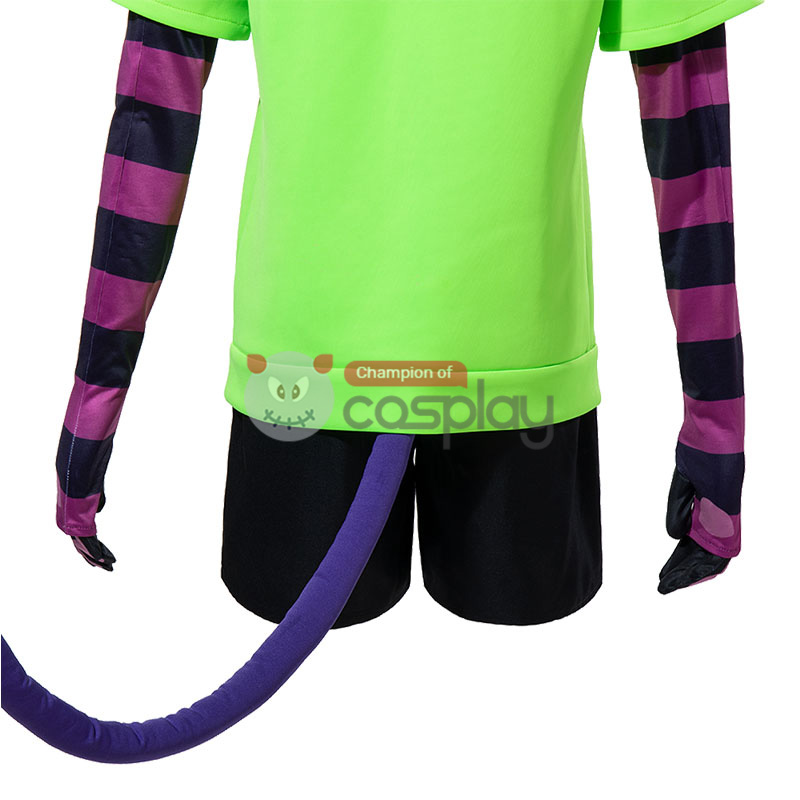 SK8 the Infinity Green Miya Chinen Cosplay Costume