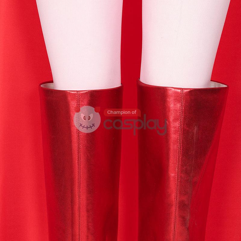 2021 Wanda Costume WandaVision Maximoff Scarlet Witch Cosplay Suit
