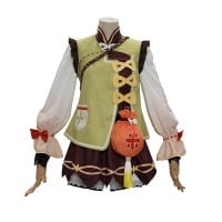 Yaoyao Costume Game Genshin Impact Cosplay Suit
