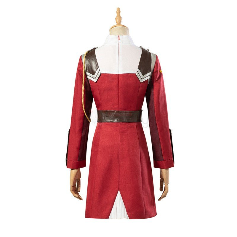 002 Costume Darling in The Franxx Zero Two Cosplay Suit