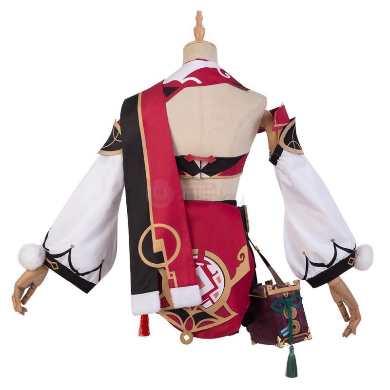 Genshin Impact Yanfei Cosplay Costume