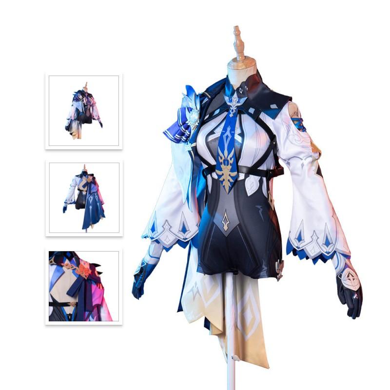 Genshin Impact Eula Cosplay Costume