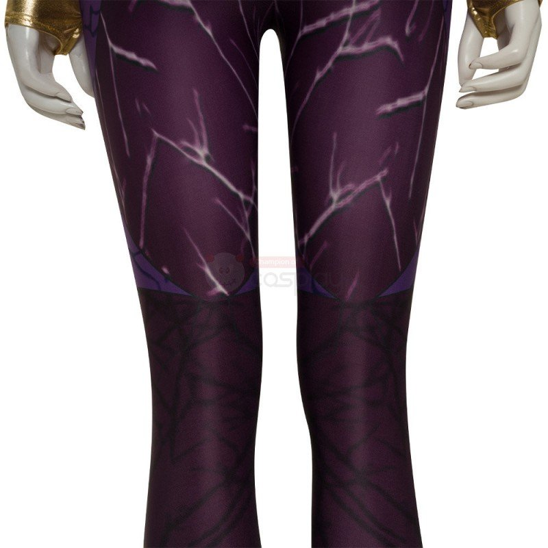Teen Titans Starfire Purple Cosplay Costume
