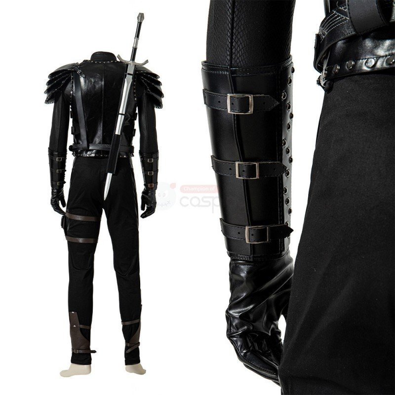 2021 Geralt Costume The Witcher 2 Assassins of Kings Cosplay Suit