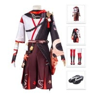 Kazuha Costume Genshin Impact Cosplay Suit