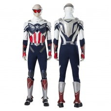 Sam Wilson Costume The Falcon and the Winter Soldier Captain America Cosplay Suit