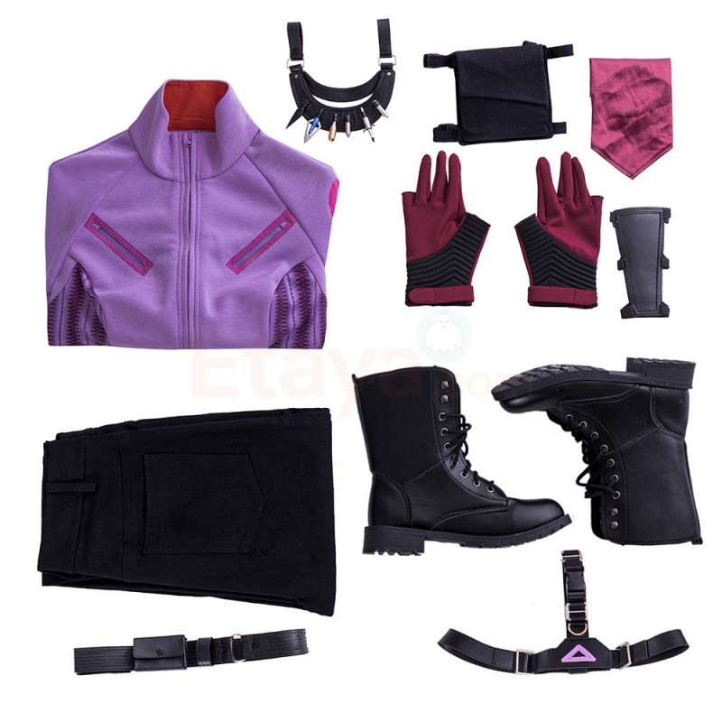 Hawkeye Kate Bishop Cosplay Costume Upgraded Version