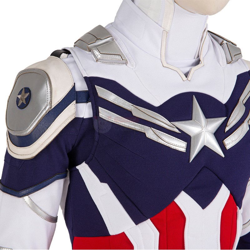 The Falcon and the Winter Soldier Suit Sam Wilson Cosplay Costume