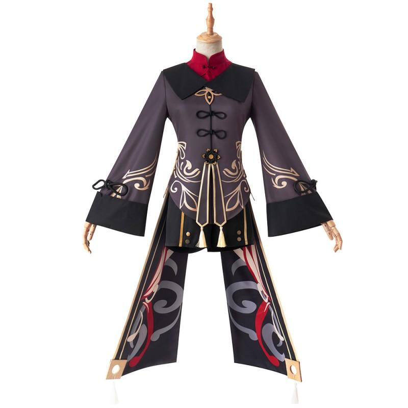 Hu Tao Costume Genshin Impact Cosplay Suit