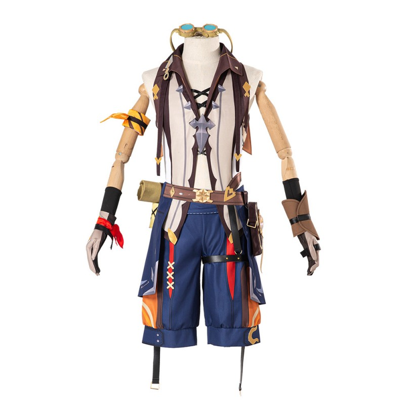 Bennett Costume Genshin Impact Cosplay Suit