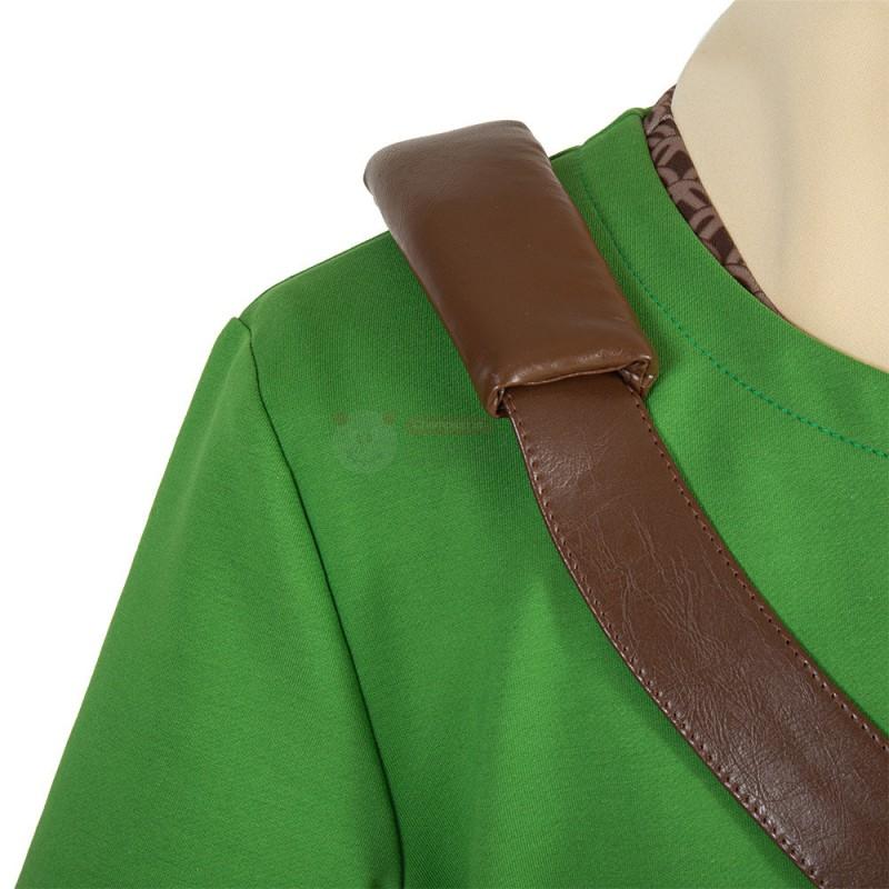 Link Costume The Legend of Zelda Skyward Sword Cosplay Suit