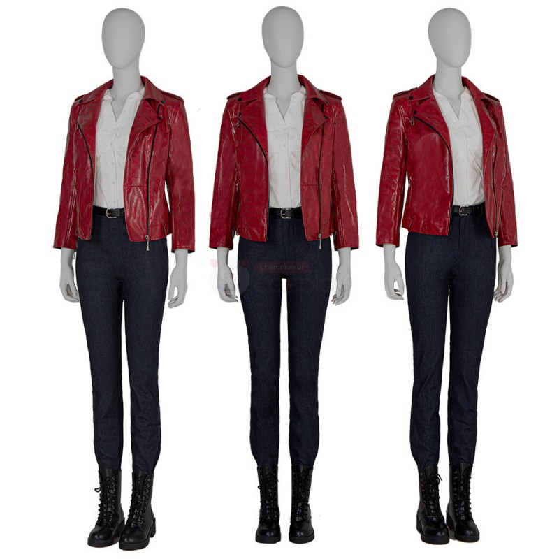 Claire Redfield Costume New Resident Evil Infinite Darkness Cosplay Suit