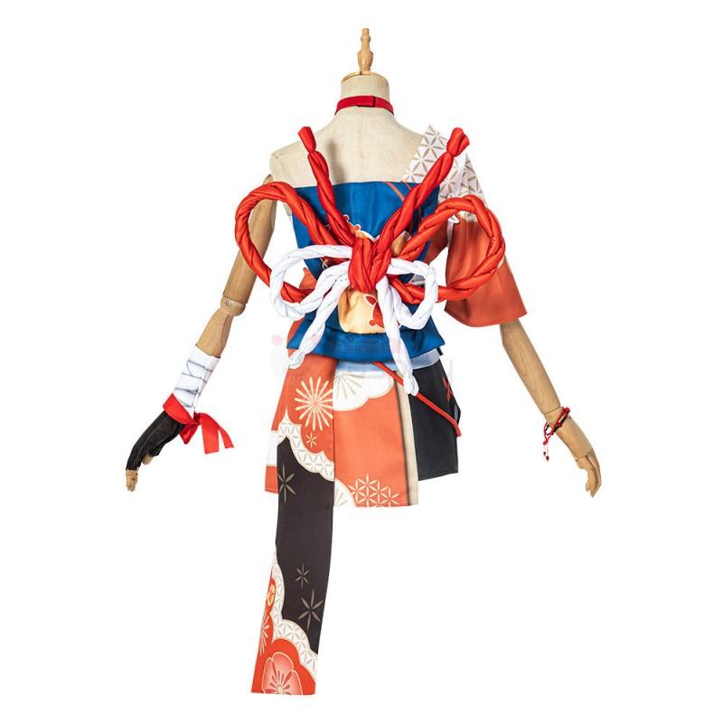 Yoimiya Costume Genshin Impact Cosplay Suit