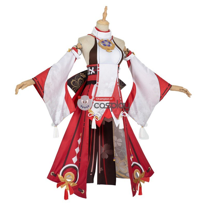 Yae Miko Costume Genshin Impact Cosplay Costume