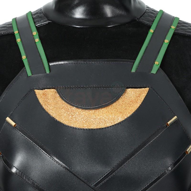 Lady Loki Costume 2021 Female Loki Sylvie Lushton Cosplay Suit Top Level