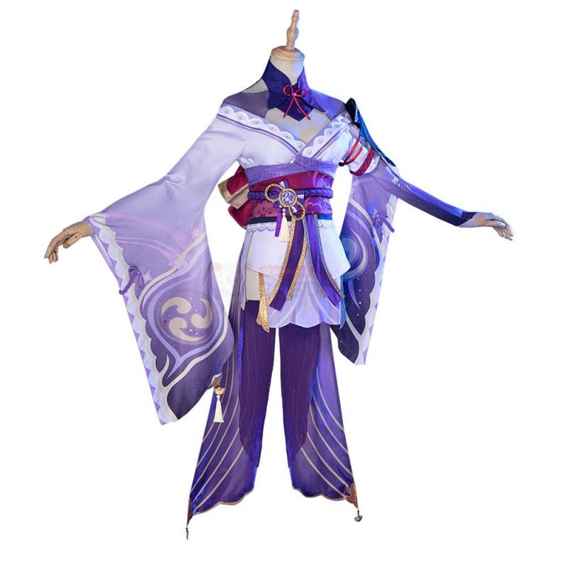 Genshin Impact Baal Costume Raiden Shogun Cosplay Suit