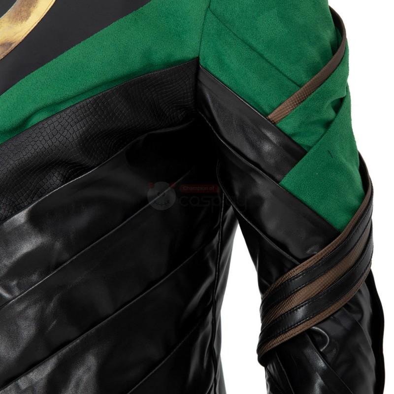 Loki Costume Deluxe 2021 TV Loki Laufeyson Armor Cosplay Suit