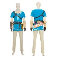 Link Costume The Legend of Zelda Breath of The Wild Link Cosplay Suit