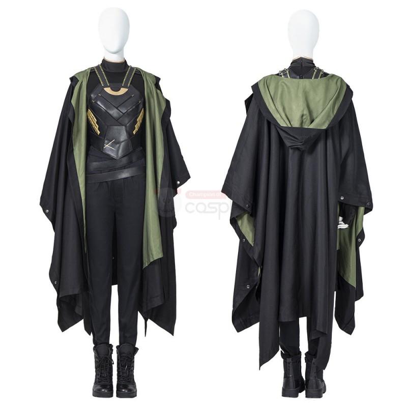 Female Loki Cosplay Costume Sylvie Laufeydottir Cosplay Suit