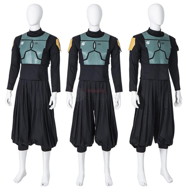 The Mandalorian Boba Fett Costume Star Wars Cosplay Suit
