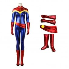 Captain Marvel Costumes Carol Danvers Cosplay